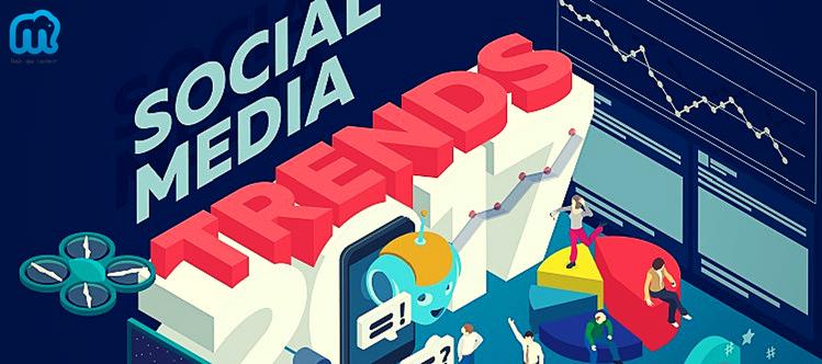 Quelles seront les tendances 2017 sur les réseaux sociaux ?