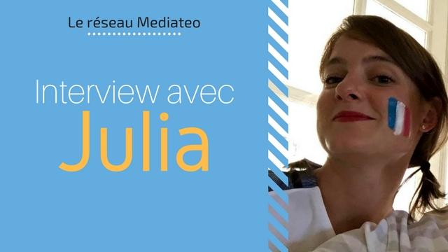 Bonjour Julia !