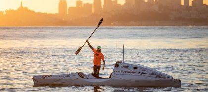 Relations-Presse: Mediateo avec Cyril Derreumaux à l'assaut du Pacifique en kayak !